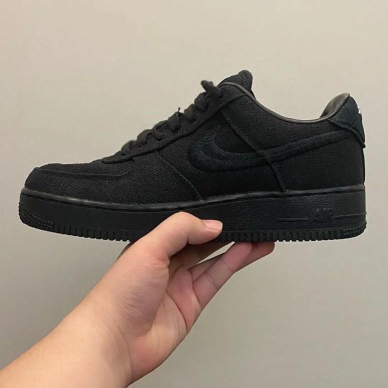 Stussy × Nike Air Force 1 Low ステューシー × ナイキ エア フォース 1 ロー black side