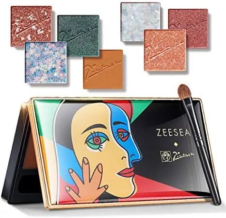 ZEESEA × ピカソ インスピレーション アイシャドウ コラボ パレット