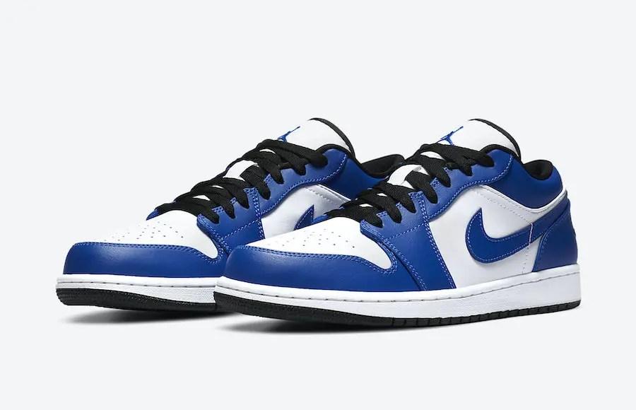 """Nike Air Jordan 1 Low """"Game Royal"""" (ナイキ エア ジョーダン 1 ロー """"ゲーム ロイヤル"""") 553558-124"""
