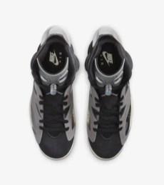 "Nike WMNS Air Jordan 6 ""Tech Chrome"" ナイキ ウィメンズ エア ジョーダン 6 ""テック クローム"" CK6635-001 above"