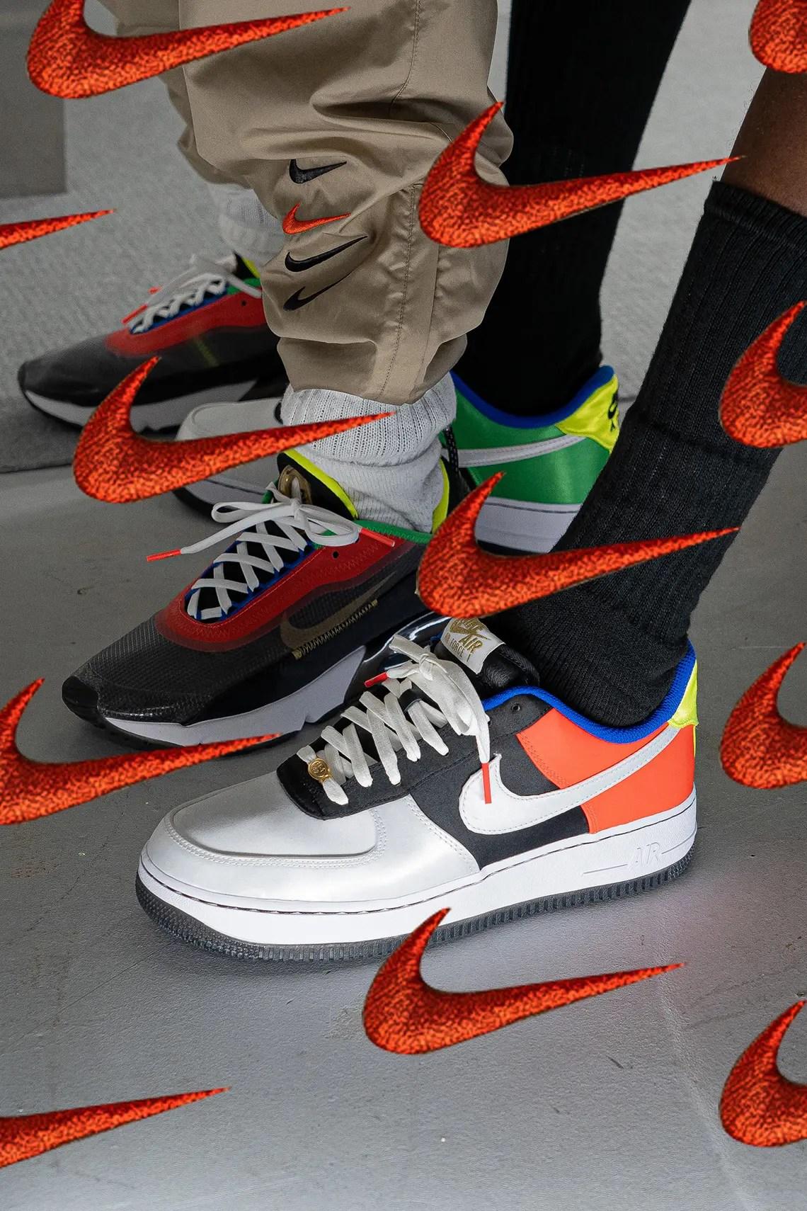 """BAIT Japan × Nike """"Hidden Message"""" Pack (日本限定 ナイキ """"ヒドゥン メッセージ"""" パック) DA1344-014, DA1345-014, CZ8698-074 air max 95 air force 1 air max 2090"""