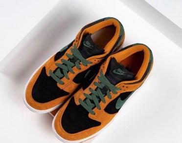 """Nike Dunk Low """"Ceramic"""" (ナイキ ダンク ロー """"セラミック"""") DA1469-001 pair above"""