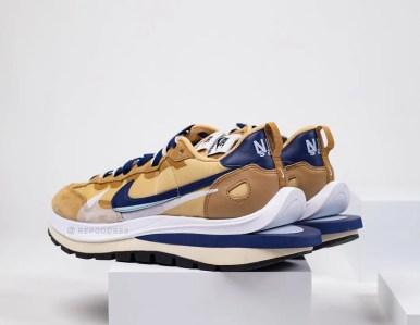 Sacai Nike VaporWaffle Sesame Blue サカイ ナイキ ヴェイパー ワッフル コラボ セサミ ブルー pair main