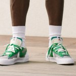 Sacai × Nike Blazer Low (サカイ × ナイキ ブレーザー ロー) Green look