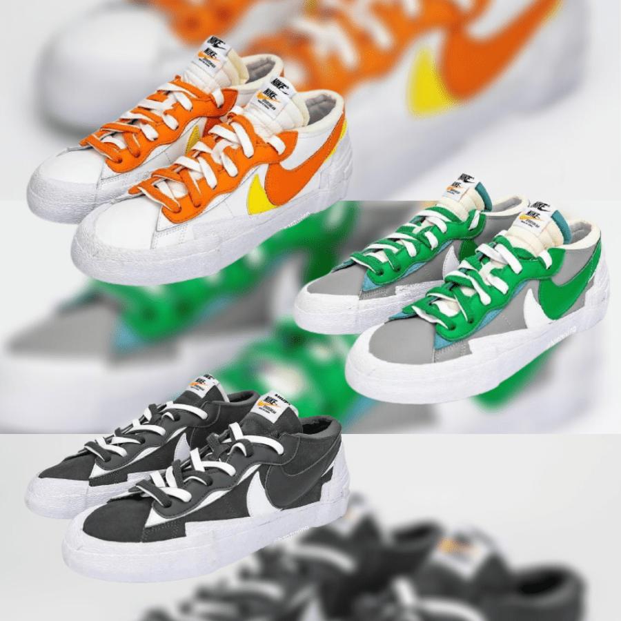 Sacai × Nike Blazer Low サカイ × ナイキ ブレーザー ロー