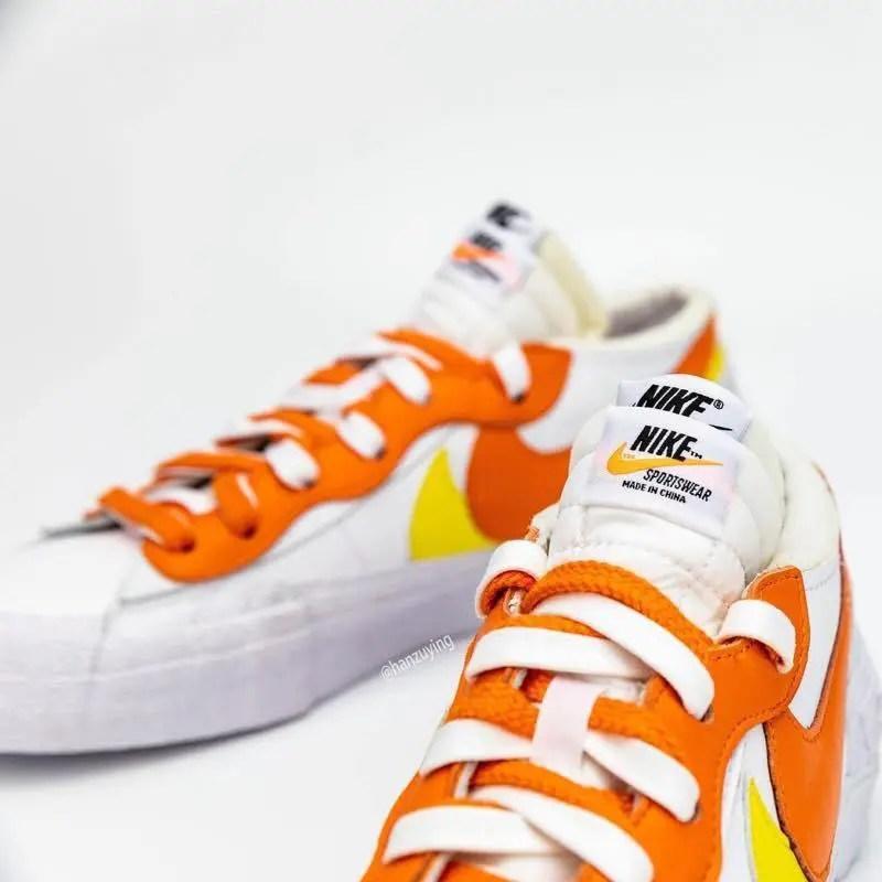 Sacai × Nike Blazer Low (サカイ × ナイキ ブレーザー ロー) DD1877-100 main