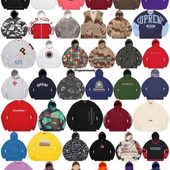 supreme 2020fw Sweatshirt2