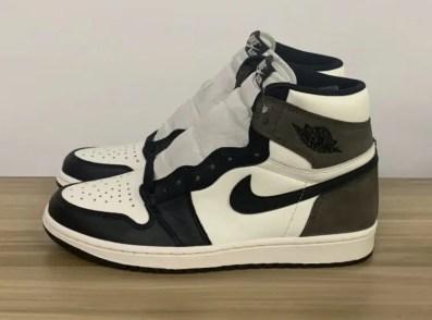 "Nike Air Jordan High ""Dark Mocha"" ナイキ エアジョーダン ハイ ""ダークモカ"" 555088-105 pair left side"