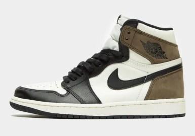 "Nike Air Jordan High ""Dark Mocha"" ナイキ エアジョーダン ハイ ""ダークモカ"" 555088-105 main side"