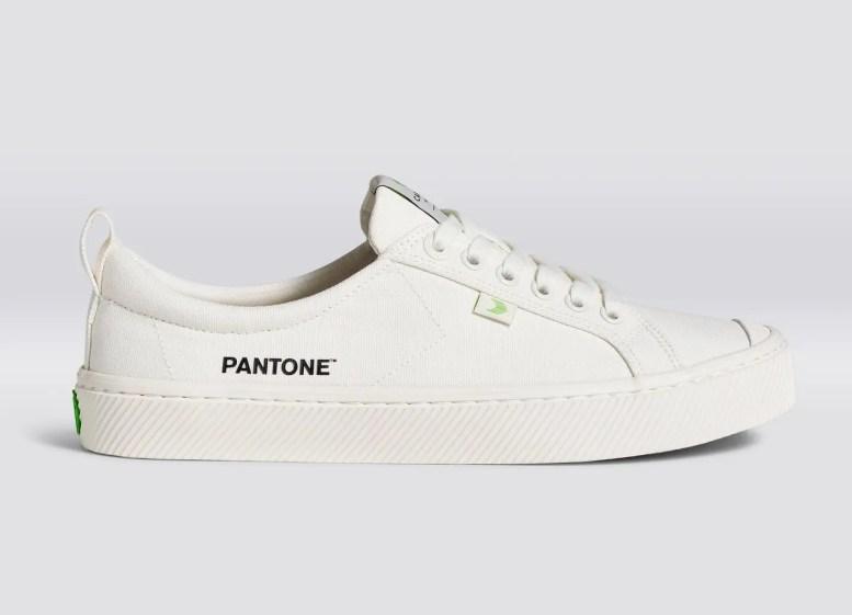 CARIUMA Sneaker Pantone Snow White Canvas 2020 Fall Winter カリウマ スニーカー パントーン スノー ホワイト 2020年秋冬