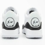 Fragment x Nike Air Jordan 3 フラグメント x ナイキ エアジョーダン 3 DA3595-100 back