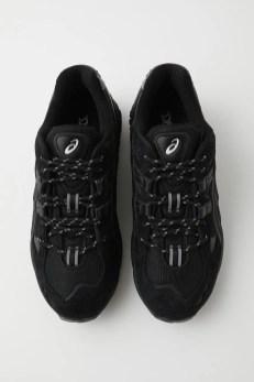 MOUSSY × ASICS GEL-KAYANO 5 OG BLACK マウジー x アシックス ゲル カヤノ 5 OG ブラック 010DAS01-5000 pair