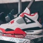 ナイキ エア ジョーダン 4 ファイア レッド Nike Air Jordan 4 Fire Red 2020 DC7770-160 @kicksvisionofficial side