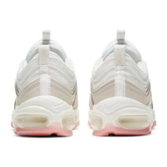 Nike Air Max 97 Summit White And Pink ナイキ エアマックス 97 サミット ホワイト アンド ピンク 100SUMMIT WHITE/MTLC SUMMIT WHT CT1904-100 back