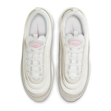 Nike Air Max 97 Summit White And Pink ナイキ エアマックス 97 サミット ホワイト アンド ピンク 100SUMMIT WHITE/MTLC SUMMIT WHT CT1904-100 above