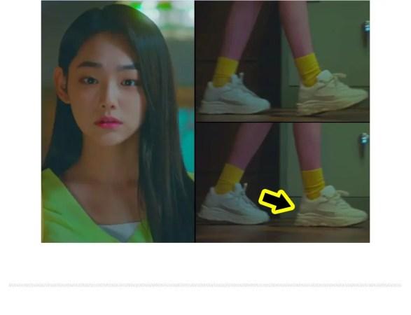 gugudan Mina AKIIICLASSIC Sneaker ググダン ミナ IOI アキクラシック スニーカー 着用