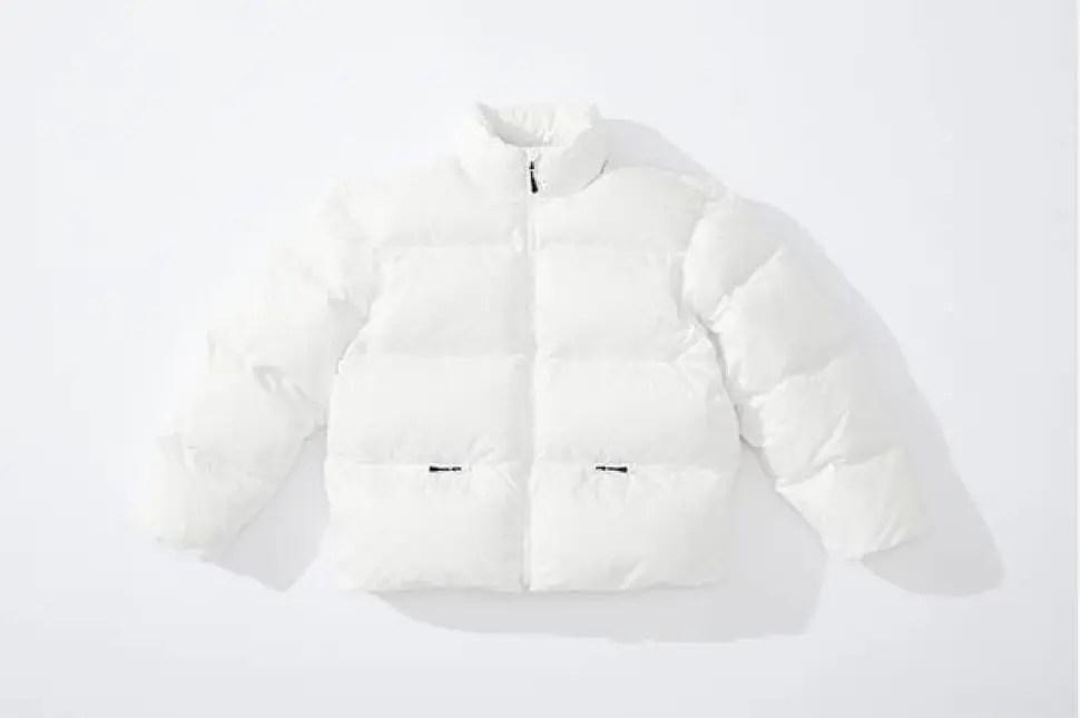 supreme 2020fw week4 シュプリーム 秋冬コレクション Down Jacket white front