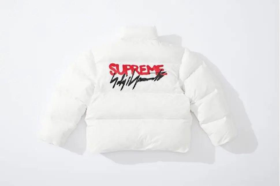 supreme 2020fw week4 シュプリーム 秋冬コレクション Down Jacket white back