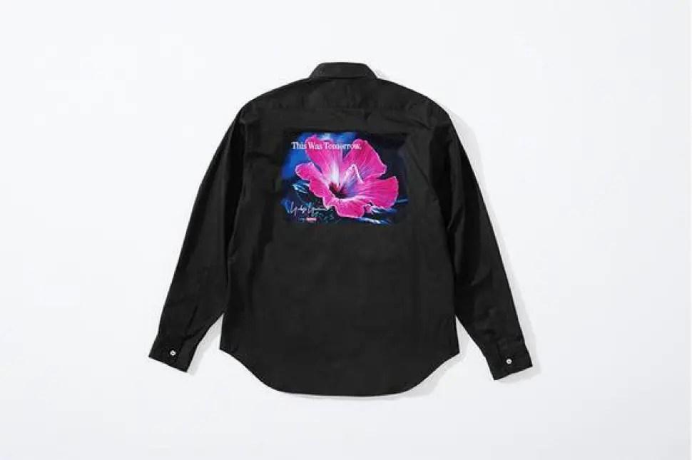 supreme 2020fw week4 シュプリーム 秋冬コレクション shirt black back