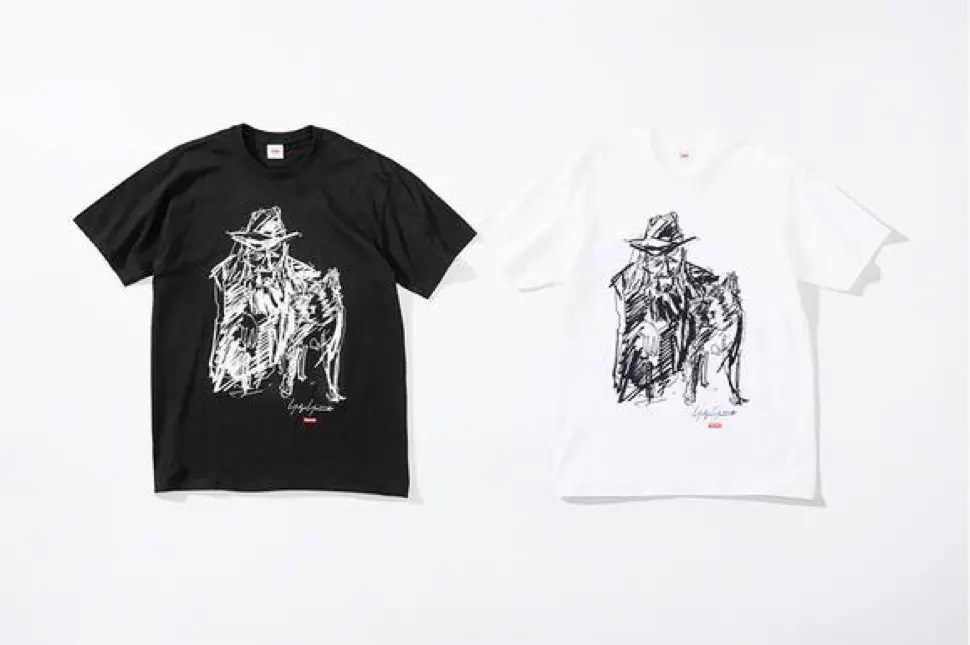 supreme 2020fw week4 シュプリーム 秋冬コレクション Scribble Portrait Tee