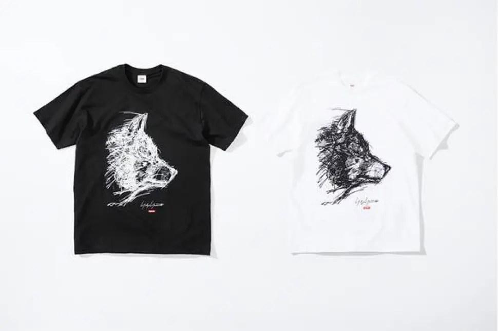 supreme 2020fw week4 シュプリーム 秋冬コレクション Scribble Wolf Tee