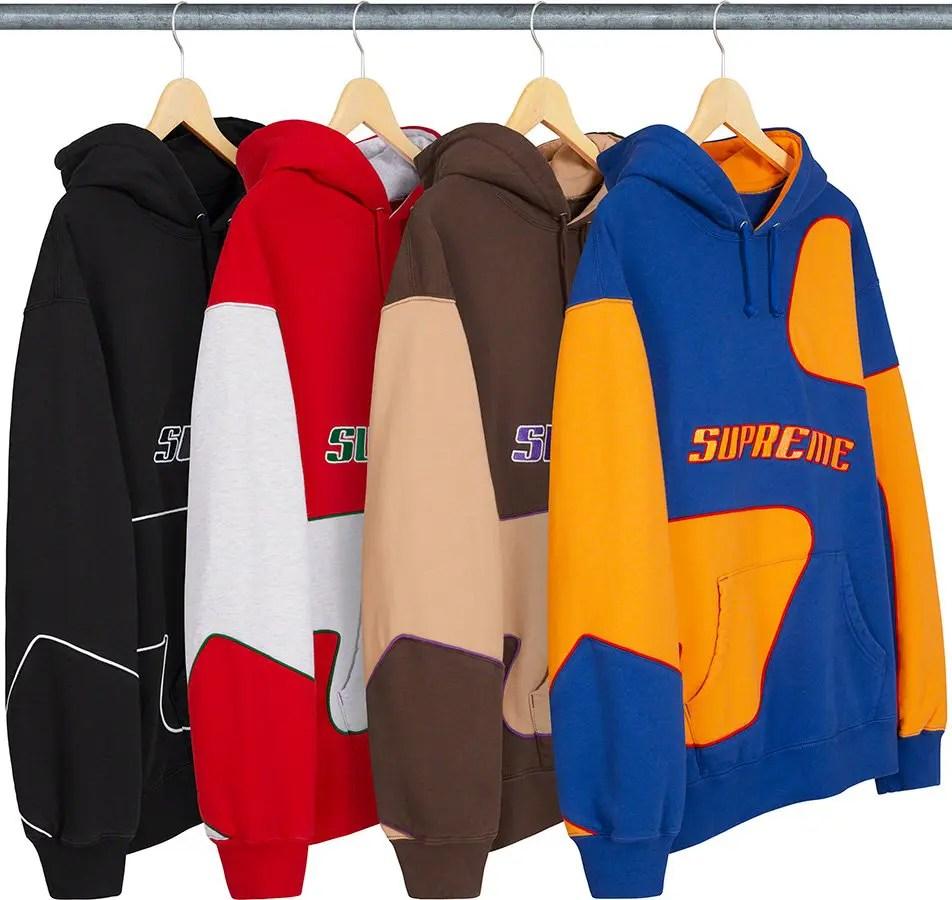 supreme nike collaboration apparel 2020fw 20200905 week2 シュプリーム ナイキ 2020秋冬 Big S Hooded Sweatshirt all