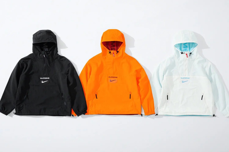 supreme nike collaboration apparel 2020fw 20200905 week2 シュプリーム ナイキ 2020秋冬 anorack collect main reverse