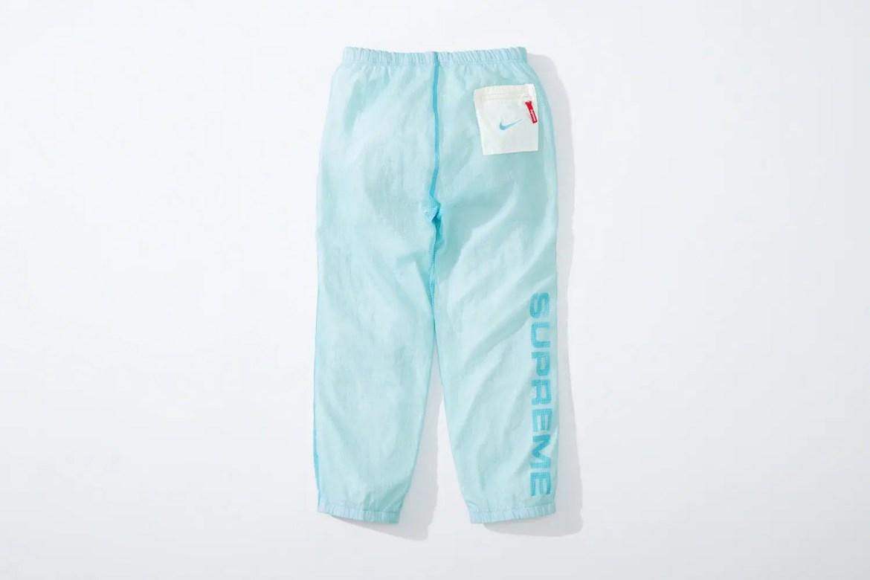 supreme nike collaboration apparel 2020fw 20200905 week2 シュプリーム ナイキ 2020秋冬 Reversible Ripstop Pant blue back
