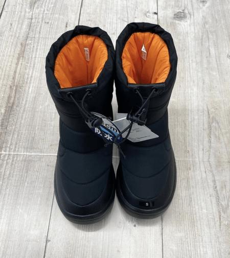 ワークマン防寒ブーツ ケベック2020年 定番カラー : ブラック (workman_quebec_2020_boukan_boots_black_FC112_front)