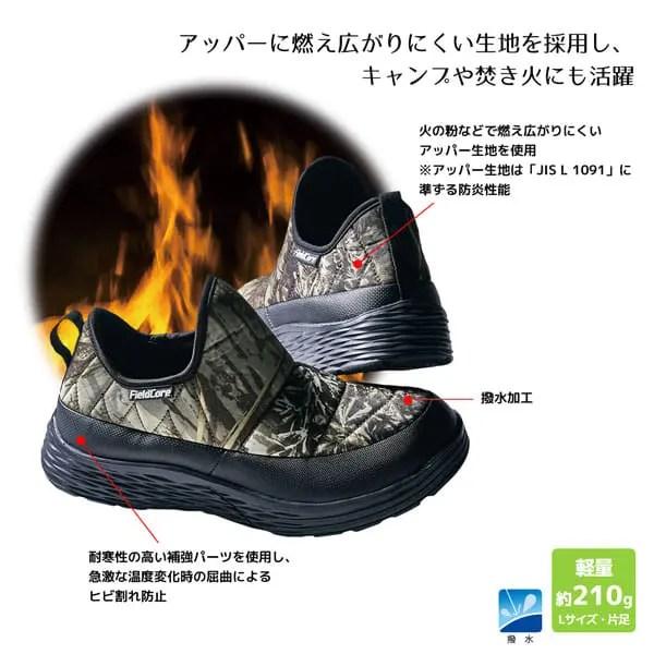ワークマン防水シューズ エルタ:説明1(workman_water_resist_shoes_elta_FC072_description)