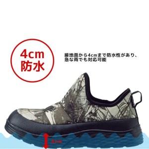 ワークマン防水シューズ エルタ:説明1(workman_water_resist_shoes_elta_FC072_water_description)