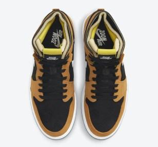 """ナイキ エア ジョーダン 1 ズーム コンフォート """"ブラックウィート"""" Nike-Air-Jordan-1-Zoom-Comfort-Black-Wheat-CT0978-002-side2ナイキ エア ジョーダン 1 ズーム コンフォート """"ブラックウィート"""" Nike-Air-Jordan-1-Zoom-Comfort-Black-Wheat-CT0978-002-top"""