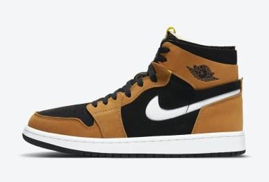 """ナイキ エア ジョーダン 1 ズーム コンフォート """"ブラックウィート"""" Nike-Air-Jordan-1-Zoom-Comfort-Black-Wheat-CT0978-002-side"""