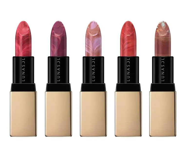 Lunasol Christmas Cosmetics 2020 Lip Sticks ルナソル クリスマス コフレ リップ