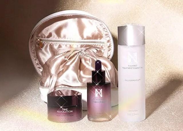 ミシャ クリスマス コフレ 韓国コスメ MISSHA Korean Cosmetics Christmas Holiday Collection 2020 skincare image