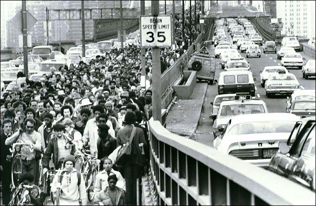 1980年 ストライキ ニューヨーク New York 1980 Transit Strike Labor
