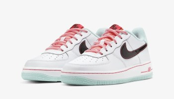 Nike Air Force 1 07 LV8 White Flash Crimson Atomic Pink DD7709-100-08