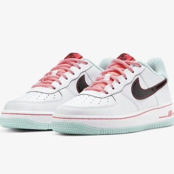 Nike Air Force 1 07 LV8 White Flash Crimson Atomic Pink DD7709-100-08