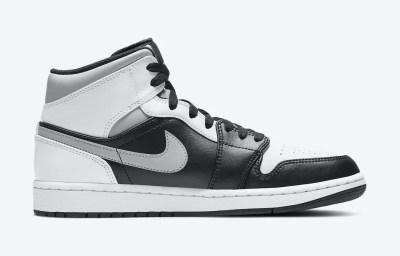ナイキ エアジョーダン 1 ミッド ホワイト シャドウ Nike Air Jordan 1 Mid White Shadow 554724-073 side