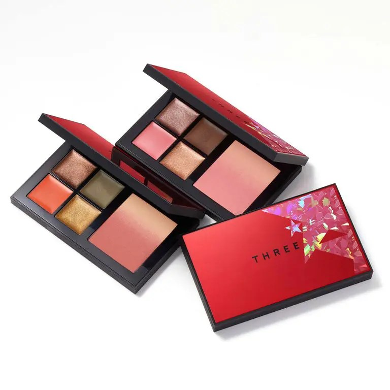 Three Christmas Cosmetics 2020 eyeshadow Palette スリー クリスマス コフレ