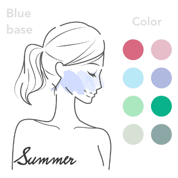 ブルベ夏:personal-color-bluebase_summer