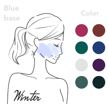 ブルベ冬:personal-color-bluebase_winter