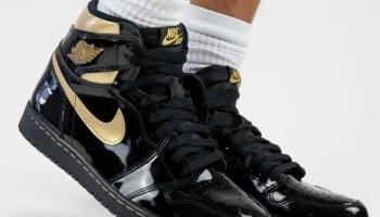 nike-Air-Jordan-1-Black-Gold-555088-032-Release-Date-On-Feet-4