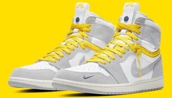 ナイキ エア ジョーダン 1 ハイ スウィッチ/ ライトスモーク グレー air-jordan-1-high-switch-white-light-smoke-grey-sail-tour-yellow-2021 CW6576-100