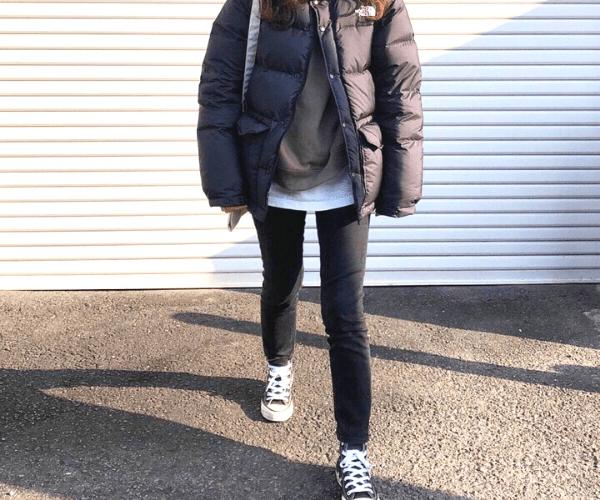 down_jacket_styles_for-ladies_sneakers