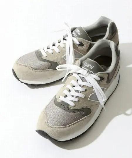 グレー系|New Balanceのスニーカーコーデ new-balance-ladies-sneakers-winter-styles-gray-sneaker
