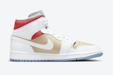 """ナイキ エア ジョーダン 1 ミッド SE """"セサミ"""" Nike-Air-Jordan-1-Mid-SE-Sesame-CZ0774-200-side-2"""