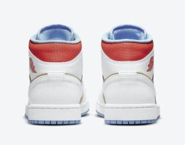 """ナイキ エア ジョーダン 1 ミッド SE """"セサミ"""" Nike-Air-Jordan-1-Mid-SE-Sesame-CZ0774-200-heel"""