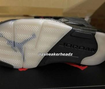 """ナイキ エア ジョーダン 5 """"アンスラサイト"""" Nike-Air-Jordan-5-Anthracite-DB0731-001-sole2"""