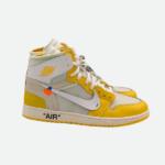 """オフホワイト x ナイキ エア ジョーダン 1 """"カナリア イエロー"""" Off-White-Nike-Air-Jordan-1-Canary-Yellow-eyecatch"""